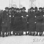 1924 Kaukaan lotat Helmi 3. vasemmalta